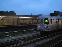 G train, evening