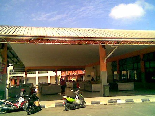 Sibu bus terminal market