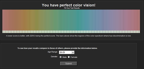 Perfect Color Vision
