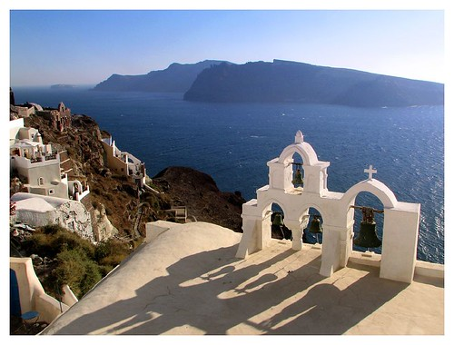 Bell tower in Oia by you.