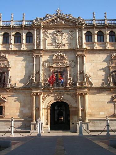 Colegio de San Ildefonso en la actualidad