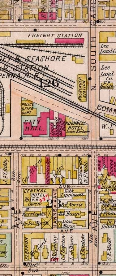 Joseph Lehrer Dept. Store Map
