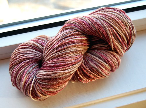 Seacell wool yarn - take 2