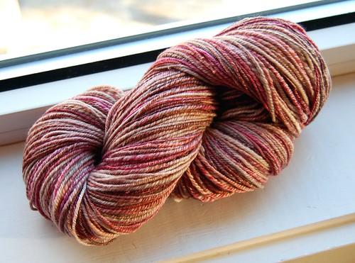 Seacell wool yarn - take 2