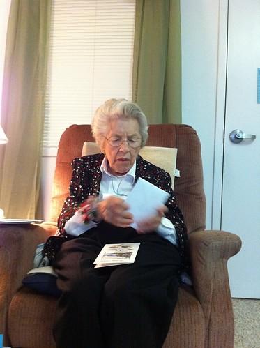 Happy 91st birthday grandma!