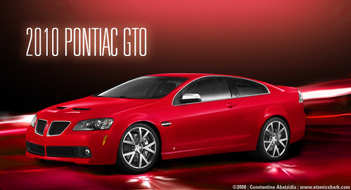 2010 Pontiac GTO concept  a photo on Flickriver