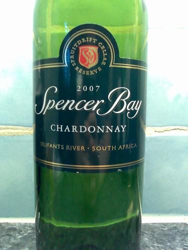 Spencer Bay Chardonnay 2007