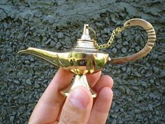 My genie lamp