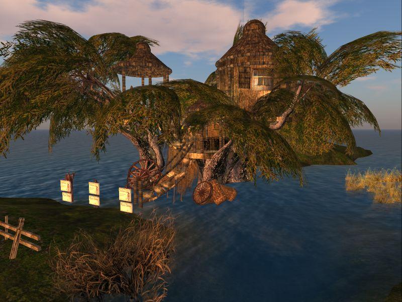 Treehouse #2 Prefab