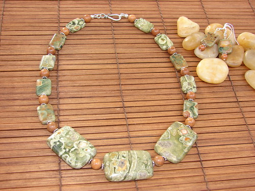 Rhyolite necklace