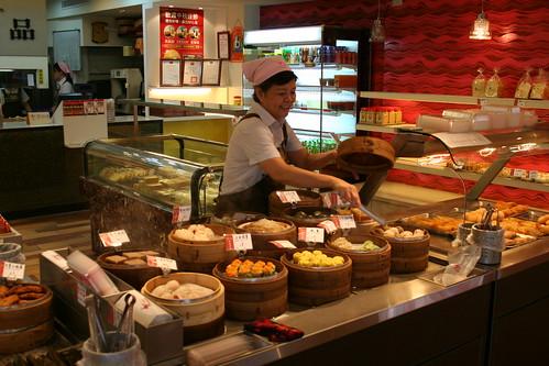 Bakery in Ximending, Taipei
