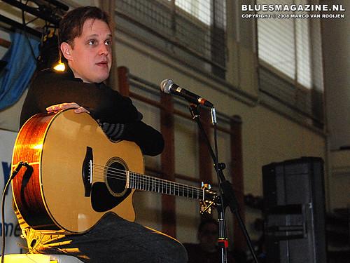 Joe Bonamassa tijdens Blues in the Schools in Winterswijk