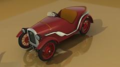 Austin Seven Ulster 3D