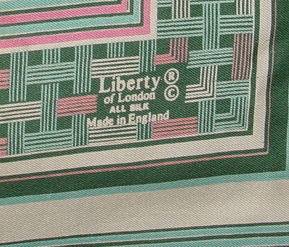 Silk Liberty of London Scarf