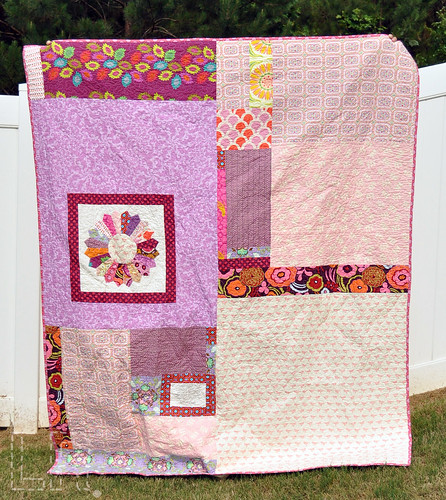 Twin Dresden Quilt - back