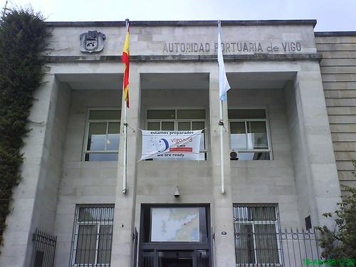 Sede de la Autoridad Portuaria de Vigo