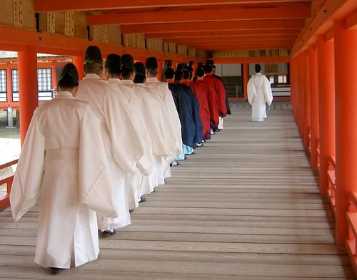 Itsukushima-jinja.