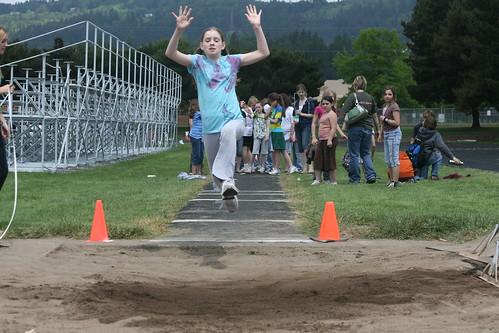 Hayley long jump