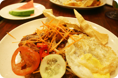 fried koey teow set