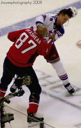 donald brashear fights colton orr by jnoyesphotography.