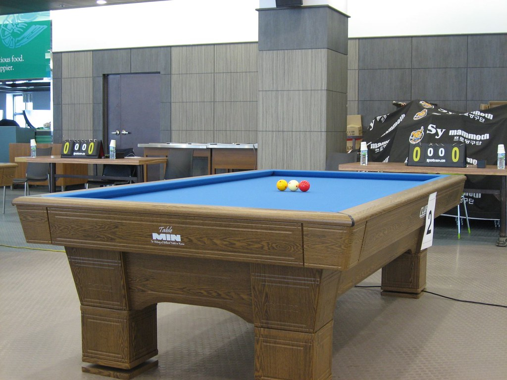 hight resolution of 3 cushion table busanmike tags pool table three contest balls competition korea