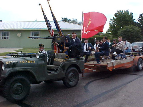 Support for Parade