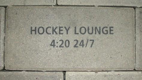 hockey lounge brick