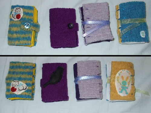 Needle Books Front and Back