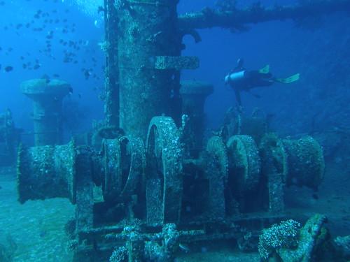 """Buceando por el """"Cedar Pride"""" / Diving in the """"Cedar Pride"""""""