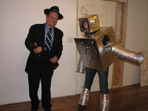 Gangster and a Robot