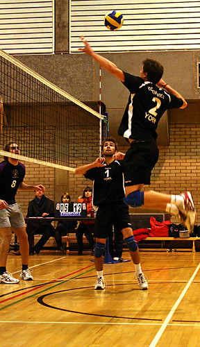Men's Volleyball vs Manchester, Alexandru Hristea