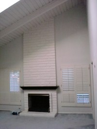 Project #1: Restoring the Brick Fireplace using Soygel