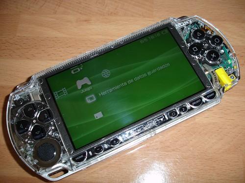 Nueva carcasa PSP