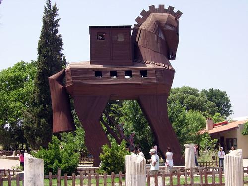 El caballo de Troya, Turquía