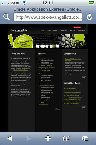 Apex Evangelists Homepage