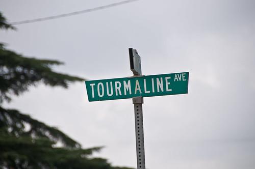 Mentone Street Signs - Tourmaline