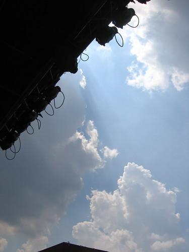 Rain clouds...again!