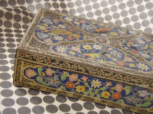 persian carpet tin
