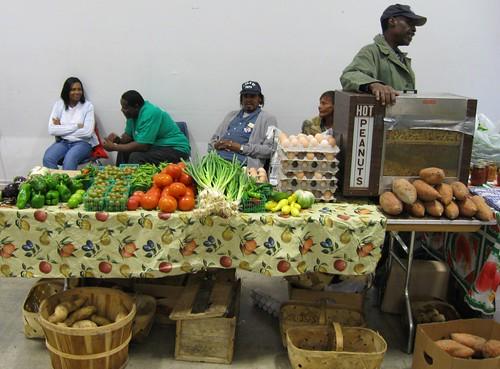 Vendors at Farmers Appreciation Day (Greensboro Farmers Curb Market)