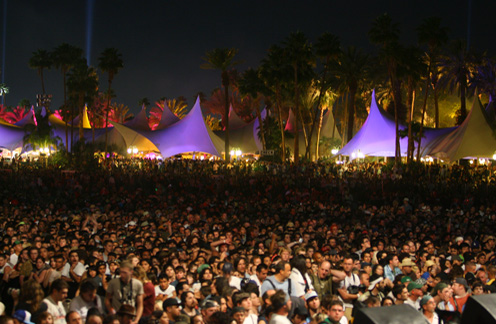crowd at coachella