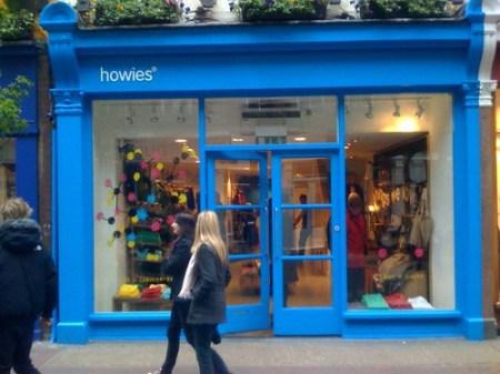 howies Store, Soho