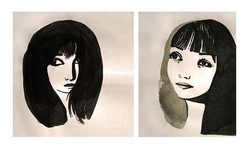 Laure Pointereau - Illustration - Portraits