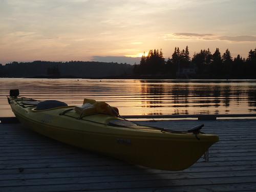 My new Necky Zoar Sport kayak