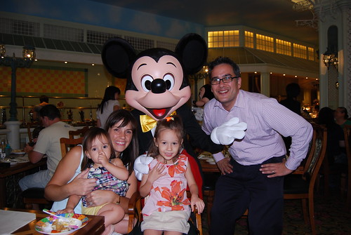 Dinner with Mickey