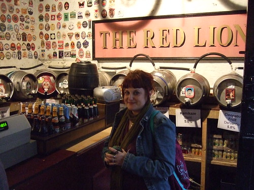 In the Olde Ale House at the Red Lion Beer Festival