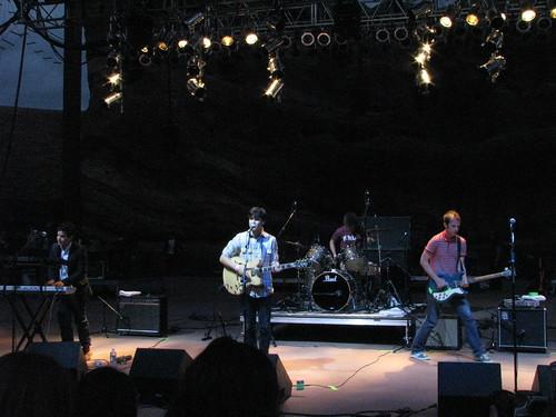 Vampire Weekend @ Monolith Festival, Red Rocks 09/12/08