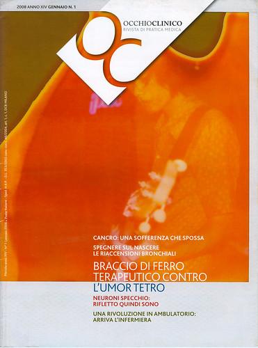 My Polaroid on OCCHIO CLINICO,cover.