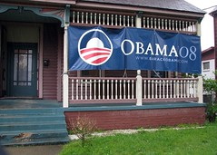 OBAMA '08 headquarters in Paducah on flickr