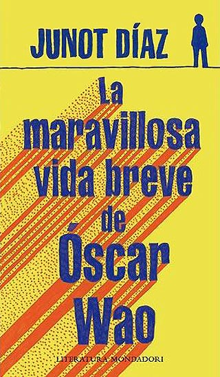 """Portada de """"La maravillosa vida breve de Óscar Wao"""", de Junot Díaz."""