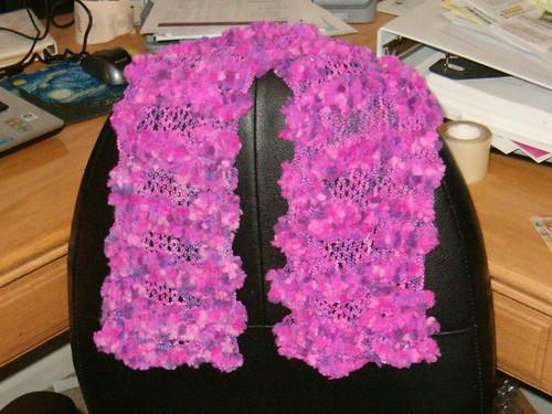 Jordan's scarf